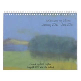 Calendario fantástico de 18 meses de las