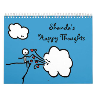 Calendario feliz 2014 de los pensamientos de