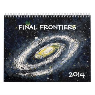 Calendario FINAL del espacio exterior de las