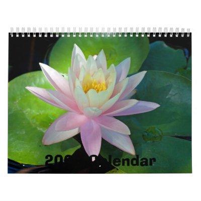 Calendario floral 2009