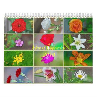 Calendario floral 2010