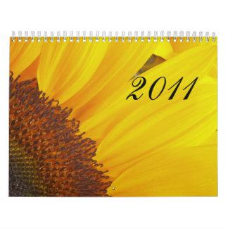 Calendario floral 2011