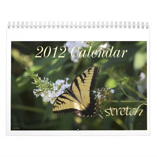 Calendario floral 2012