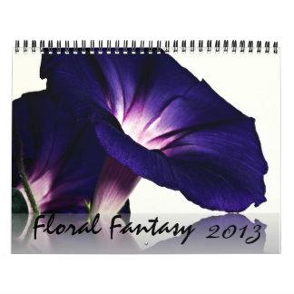 Calendario floral 2013 de la fotografía
