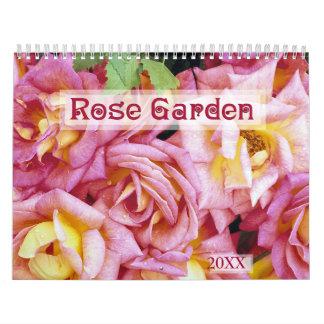 Calendario floral 2016 de la rosaleda