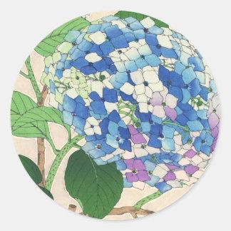Calendario floral de Kawarazaki Shodo de la flor d Pegatina