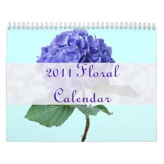 Calendario floral del bonito 2011