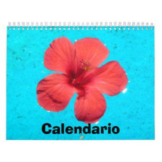 Calendario florecido