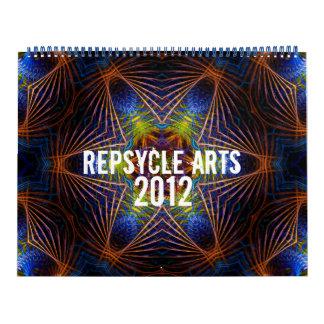 Calendario geométrico de los artes 2012 de