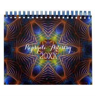 Calendario geométrico de los artes de Repsycle