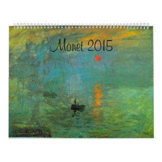 Calendario gigante de Monet 2015