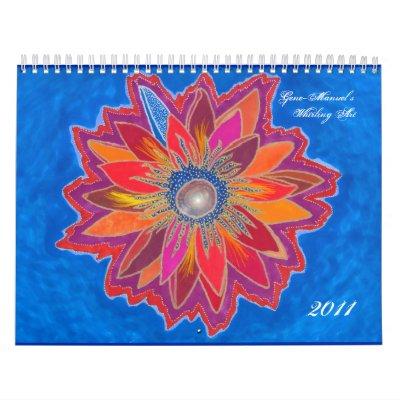 Calendario girante del arte 2011