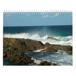 Calendario Gold Coast del sur de 2012 paisajes