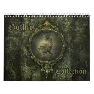 Calendario gótico de la colección