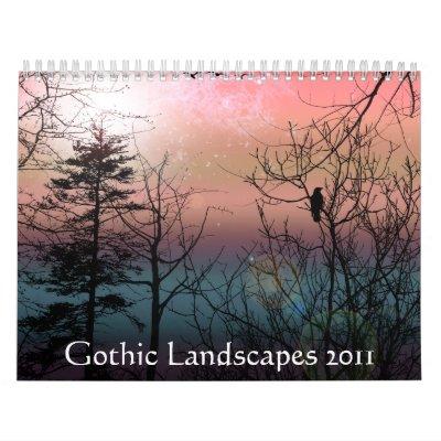 Calendario gótico de los paisajes 2011