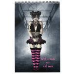 Calendario gótico del libro del arte de 2011