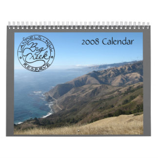 Calendario grande 2008 de la cala de la