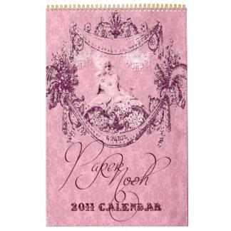 Calendario grande 2011 de Marie Antonieta Versalle