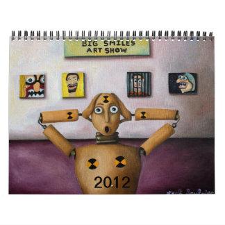 Calendario grande de las sonrisas 2012