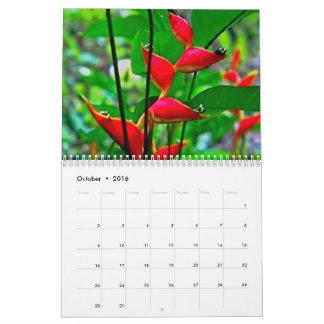 Calendario hawaiano de la naturaleza