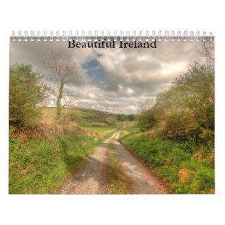 Calendario hermoso de Irlanda