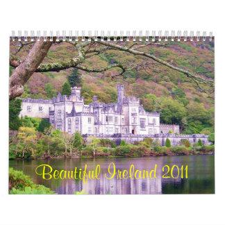Calendario hermoso de Irlanda 2011