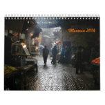 calendario hermoso de Marruecos 2014