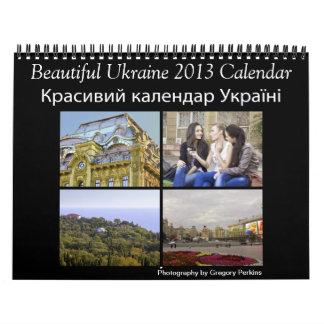 Calendario hermoso de Ucrania 2013