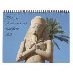 calendario histórico de las maravillas 2012