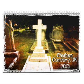Calendario histórico del cementerio de Chatham