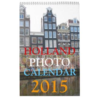 Calendario holandés 2015