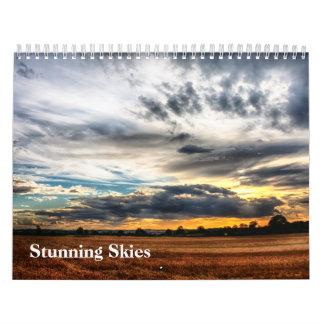 Calendario imponente de los cielos