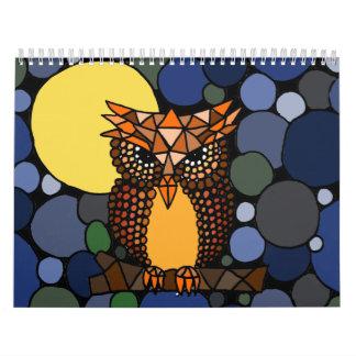 Calendario impresionante del arte abstracto