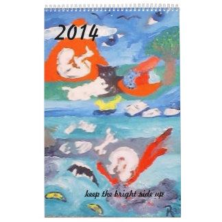 Calendario impreso 2014 de Raine Carosin