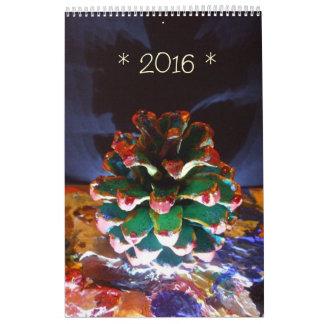 Calendario impreso 2016 de Raine Carosin