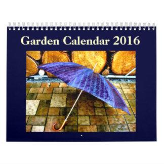 Calendario impreso personalizado 2016 del jardín