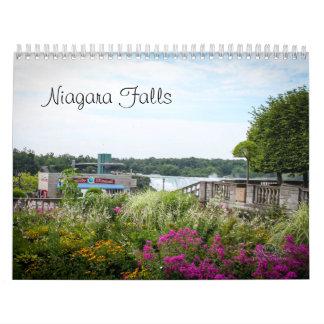 Calendario impreso personalizado de Niagara Falls