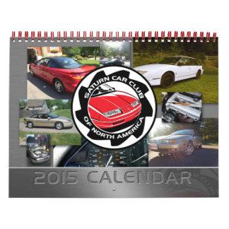 Calendario impreso personalizado del club del