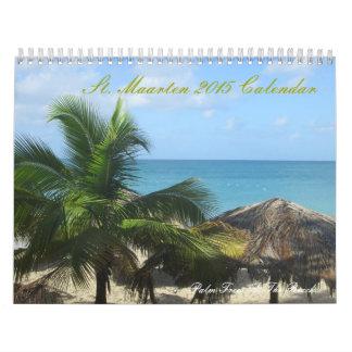 Calendario impreso personalizado del St. Maarten