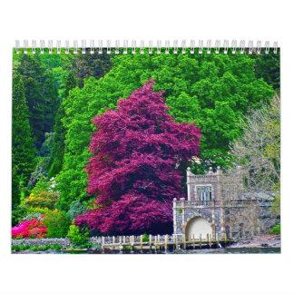 Calendario inglés septentrional 2013 del campo