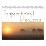 Calendario inspirado 2011 de la escritura de los