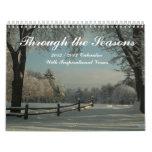 Calendario inspirado 2012-13 de la imagen de los
