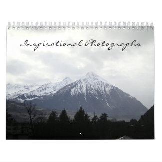 Calendario inspirado de las fotografías