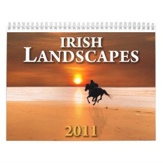 Calendario irlandés 2011 de los lanscapes