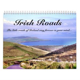 Calendario irlandés de los caminos