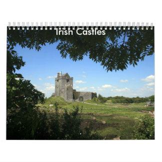 Calendario irlandés de los castillos