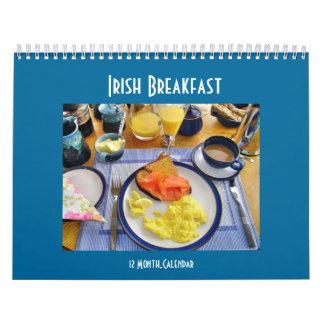 Calendario irlandés del desayuno
