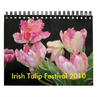 Calendario irlandés del festival 2010 del tulipán