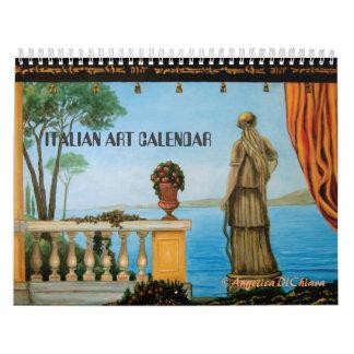 CALENDARIO ITALIANO ITALIA DEL ARTE