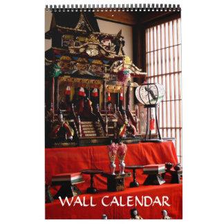 Calendario japonés de las muñecas